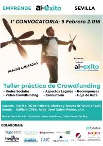 Cartel Taller Crowdfunding